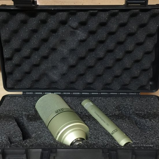 MXL 990 & 991 Condensor Microphone with Case