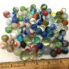 Large Lot of Misc Marbles