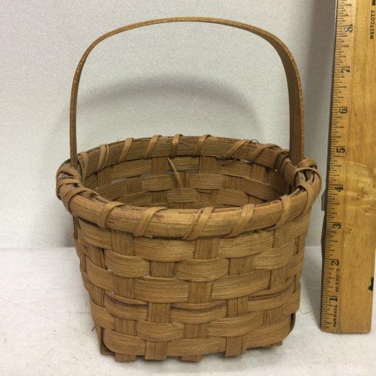Primitive Split Oak Gathering Basket
