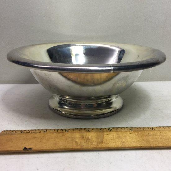 """Vintage EPNS Sheffield 9"""" Bowl"""