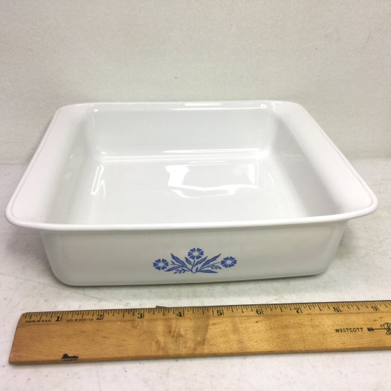 Vintage Cornflower Blue Corning Ware 8x8x2 Baking Dish