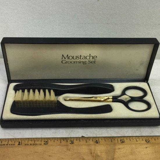 Vintage Moustache Grooming Set