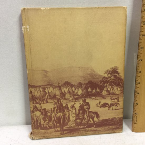 1974 North American Indians Hard Cover Book