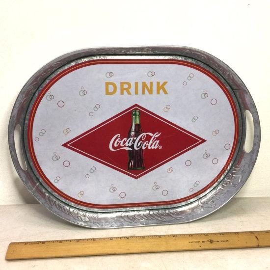 Aluminum Coca-Cola Advertising Tray