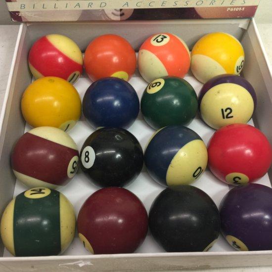 Harvard Sports Deluxe Regulation Billiard Balls with Original Box