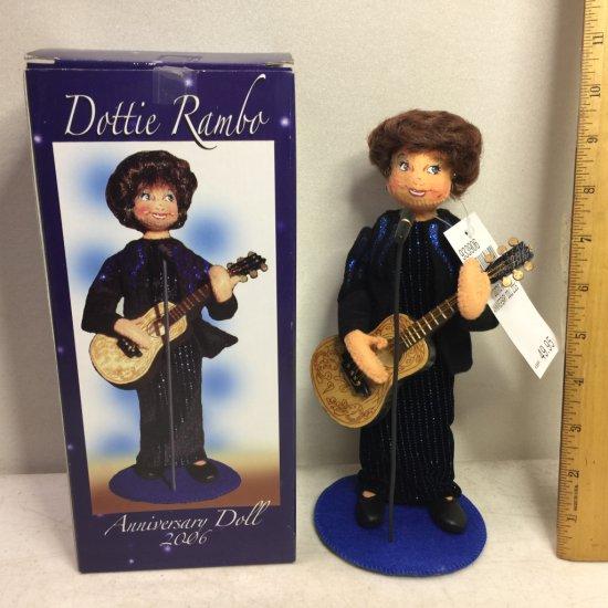 """Rare Annalee """"Dottie Rambo"""" Collector's Doll- New in Box"""