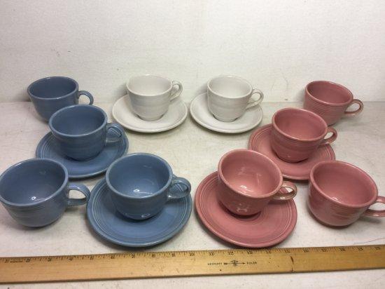 Lot of Fiesta Ware Mugs