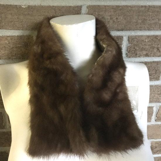 Vintage Hand Sewn Fur Collar