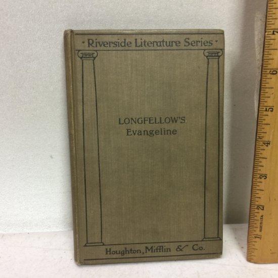 "1896 ""Longfellow's Evangeline"" by Houghton, Mifflin & Co."