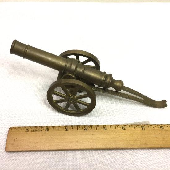 Vintage Brass Cannon