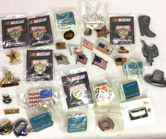 Large Lot of Misc Pins
