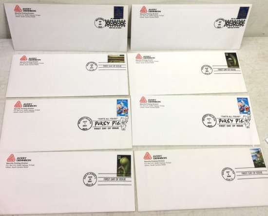 Lot of First Day of Issue Commemorative Stamps