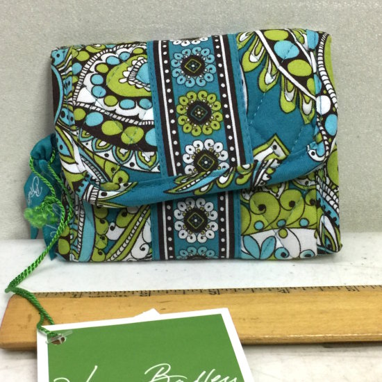 Vera Bradley NEW Peacock Wallet with Tags