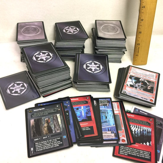 HUGE Lot of 1990's Star Wars Cards Star Wars Game