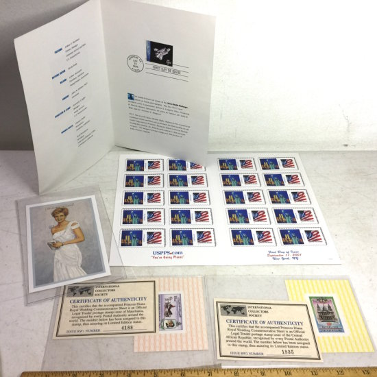 Lot of Misc Collectible Stamps