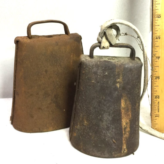 Pair of Antique Cowbells