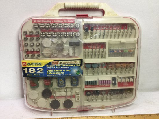 Alltrade 182 pc Rotary Tool Accessory Set
