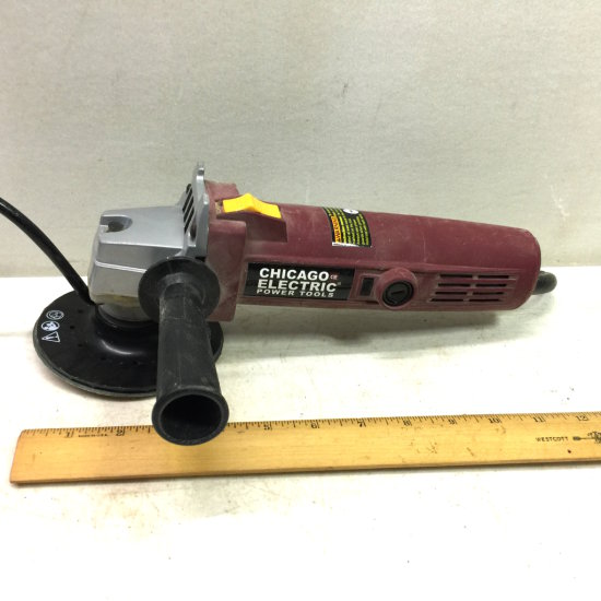 """Chicago Electric Heavy Duty 4-1/2"""" Angle Grinder"""