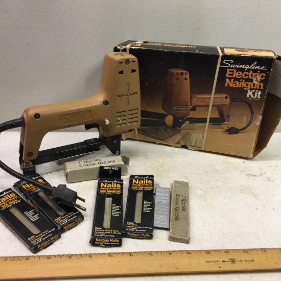 Swingline Electric Nailgun Kit
