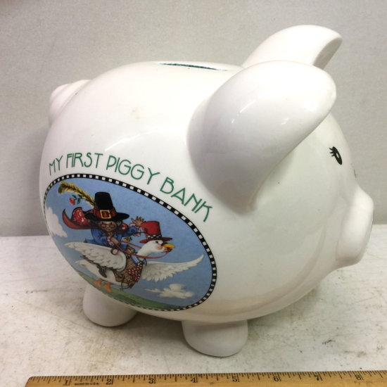 "Ceramic ""My First Piggy Bank"""
