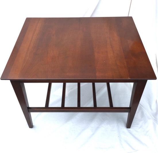 Mid Century Modern Mahogany Side Table
