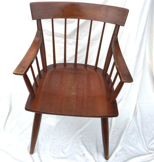 Early Spindle Back Arm Chair