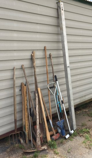 Large Lot of Outdoor Garden Tools