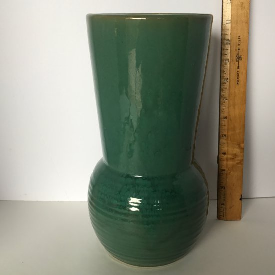 Green Decorative Pottery Vase