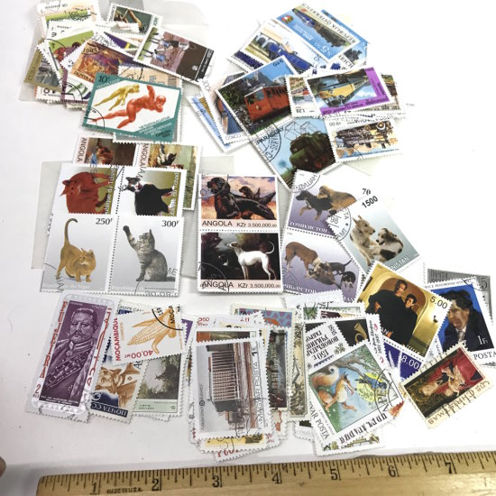Large Lot of Misc Stamps