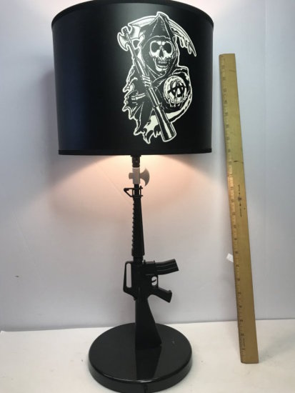 Sons of Anarchy Reaper Table Lamp