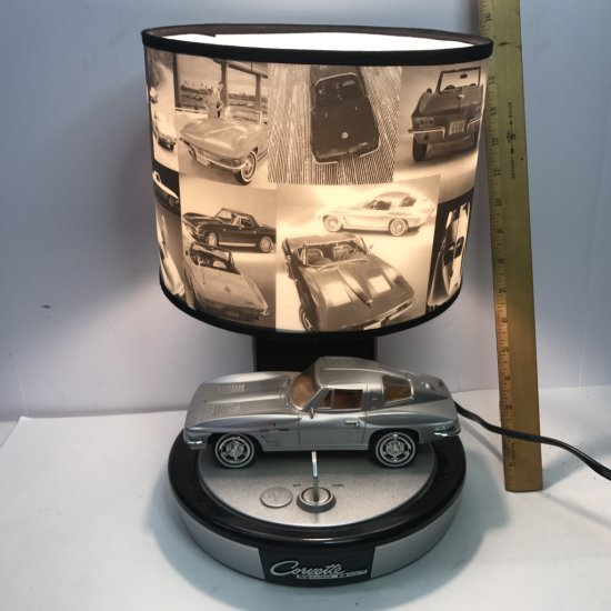 Corvette Sting Ray Lamp with Key ON/OFF
