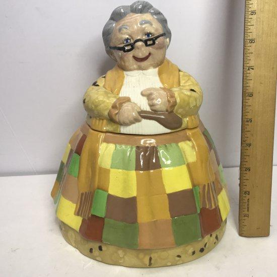 Ceramic Grandma Cookie Jar