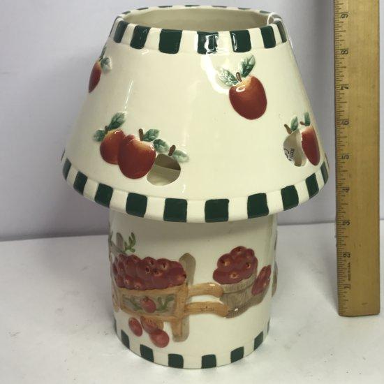 Ceramic Apple Candle Lamp
