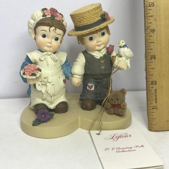 Lefton's Li'l Country Folk Figurine