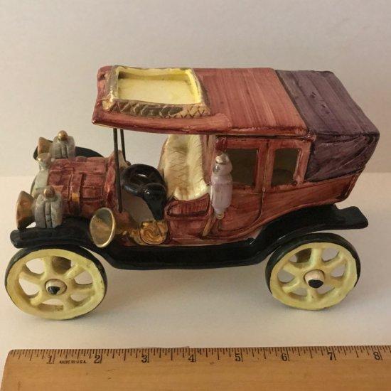 Vintage Royal Crown Fiat Old Fashioned Car Figurine
