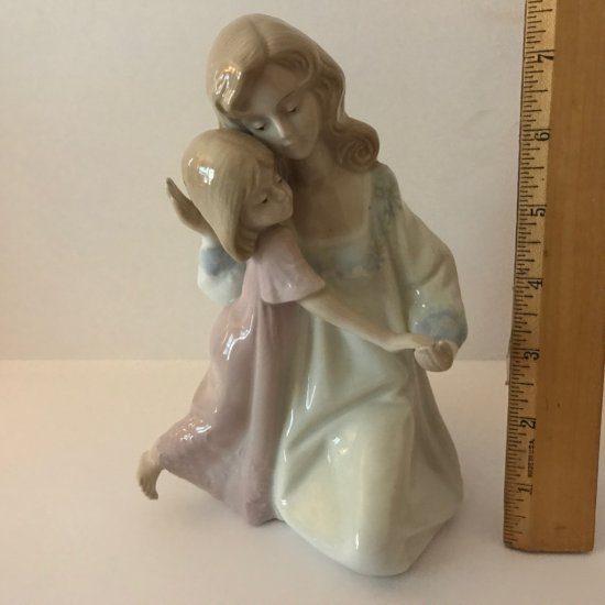 1990 Paul Sebastian Figure of Mother & Child