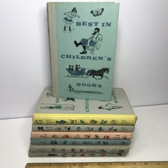 "Set of 1960's ""Best in Children's Books"" Hardcover Books by Nelson Doubleday"