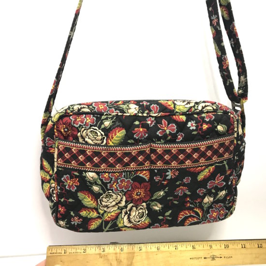 Vera Bradley Purse with Black & Red