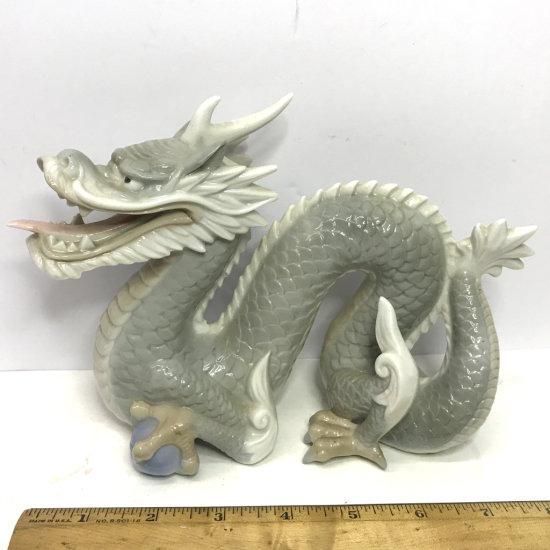 Porcelain Dragon Figurine
