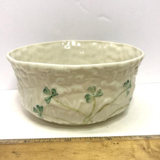 Irish Belleek Fine Parian China Small Bowl