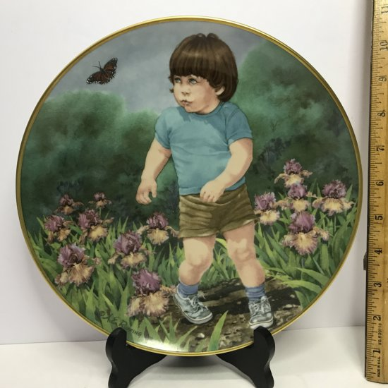 """Danbury Mint """"Journey of Dreams"""" by A.E. Ruffing """"Flight"""" Collector's Plate"""