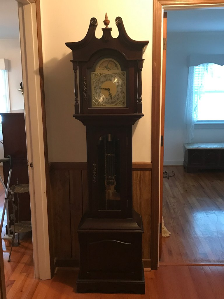 Vintage Grandfather Clock By K Auctions Online Proxibid