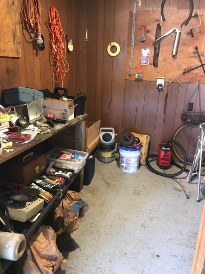 Contents of Tool Room
