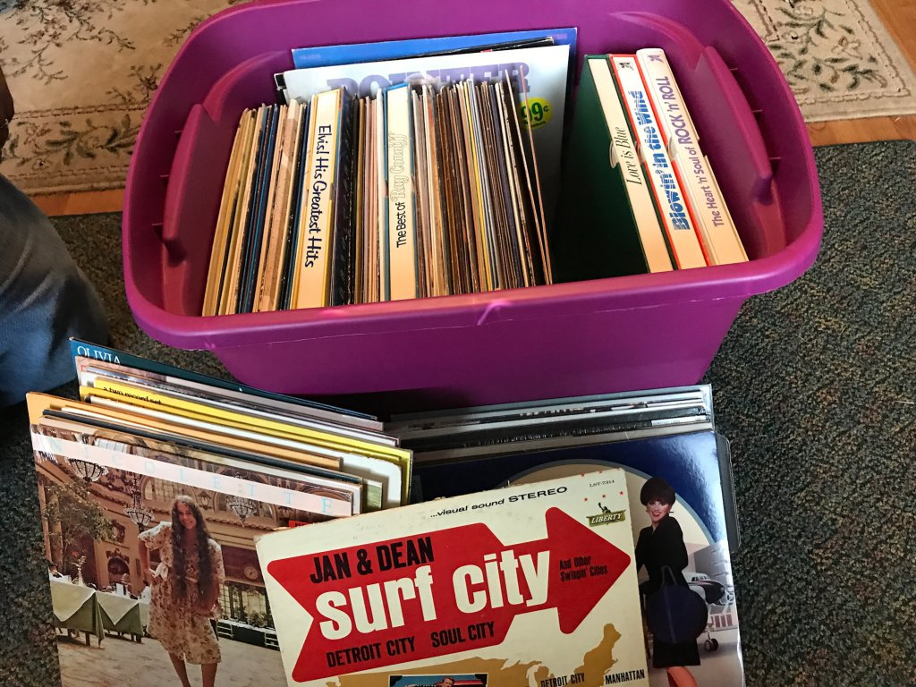 Huge Lot of Vinyl Record Albums
