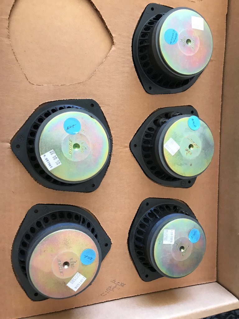 Lot of 5 Bose 108515 Woofers