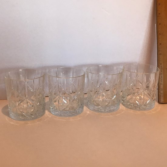 Set of 4 Marquis by Waterford Glasses