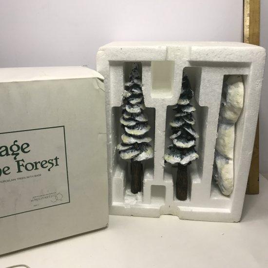 Department 56 Village Pole Pine Forest