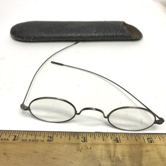Antique Spectacles with Case