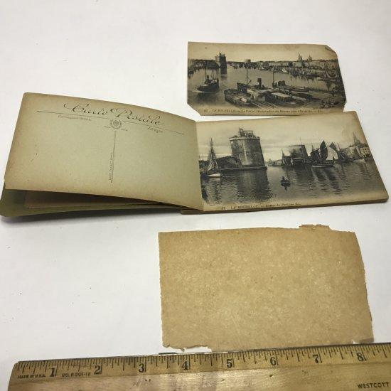 Antique French Detachable Postcards