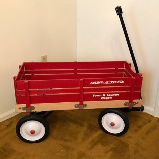 1988 Large Radio Flyer Model 24 Town & Country Wagon